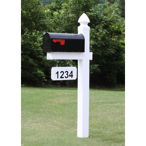 mailbox with post included - Decorative Mailboxes