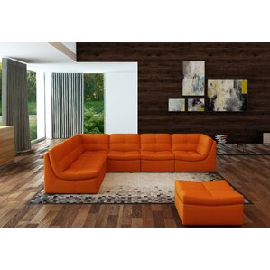 Weisman 7 Piece Leather Living Room Set
