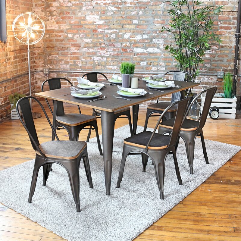 Claremont 7 Piece Dining Set Part 51