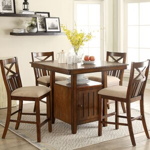 Counter Height Rustic Farmhouse Kitchen Dining Tables Youll Love