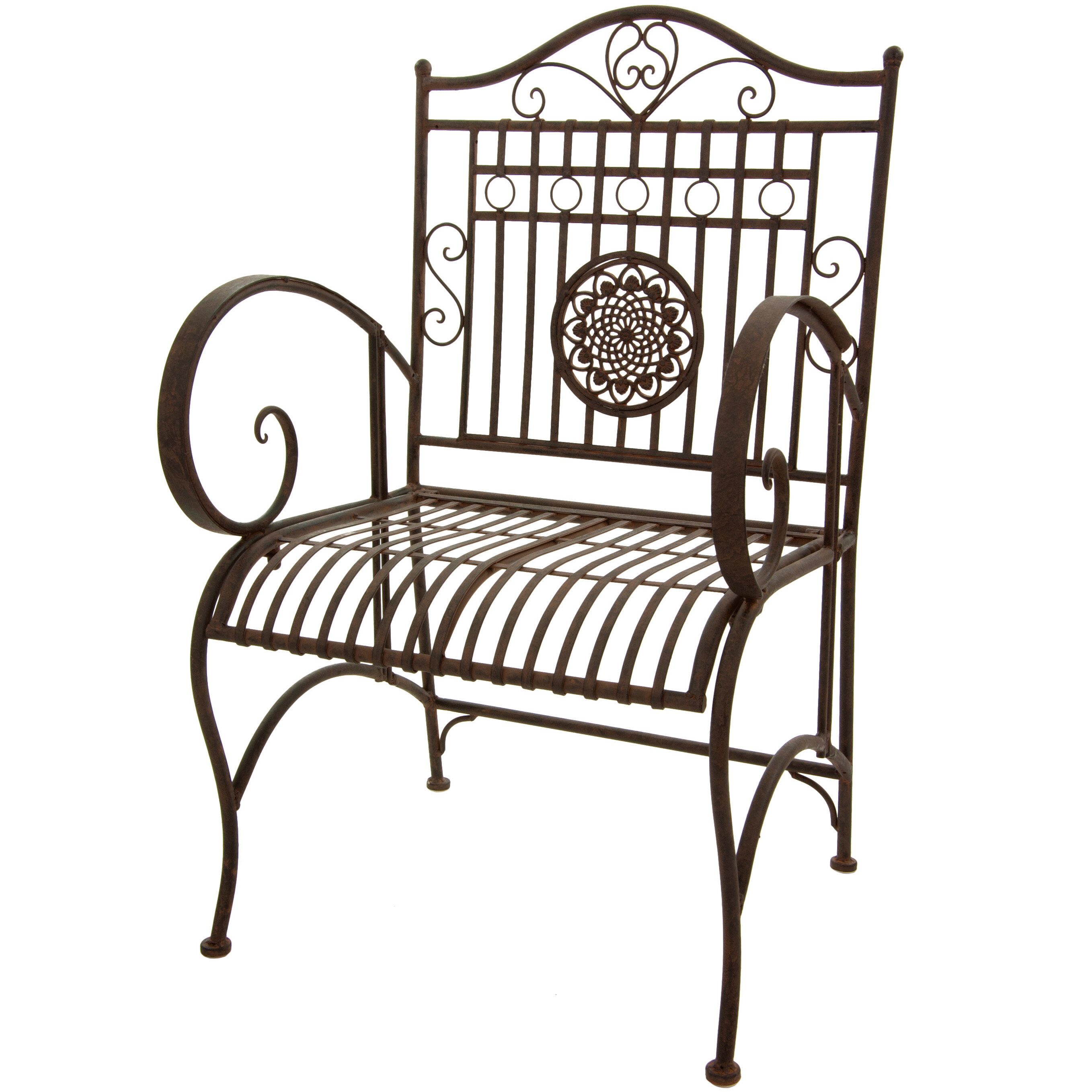 Oriental Furniture Patio Dining Chair & Reviews