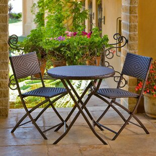 Superb Maritime 3 Piece Bistro Set