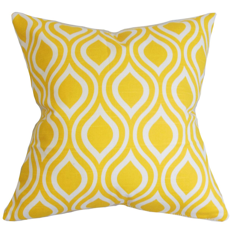 Decorative Pillows Recommendations : Brayden Studio Brock 100% Cotton Throw Pillow Wayfair
