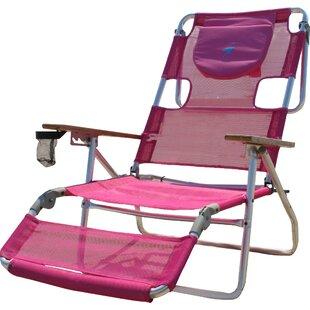 3 In 1 Reclining Beach Chair