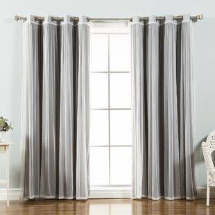 Light Gray Blackout Curtains