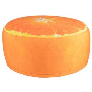 Pouffe Orange von Fallen Fruits