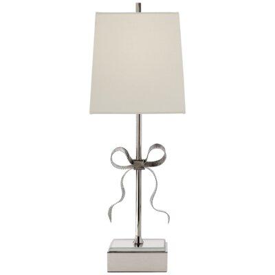 Ellery gros grain bow table lamp