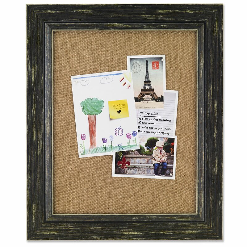 Loon Peak Attebery Decorative Burlap Board Picture Frame & Reviews ...
