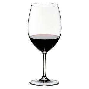 Vinum Cabernet Sauvignon/Merlot (Bordeaux) Red Wine Glass (Set of 2)