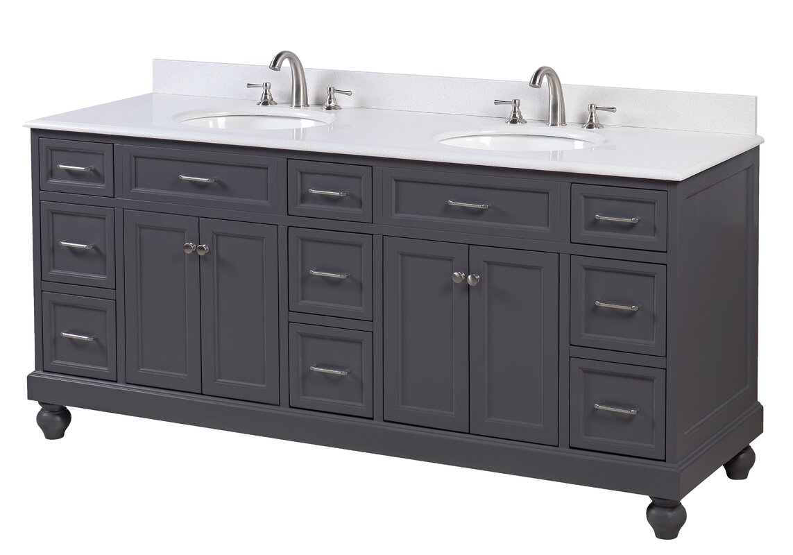 amazon com ariel vanity countertop in carrara marble esp single cambridge set white with bathroom dp wood sink solid espresso