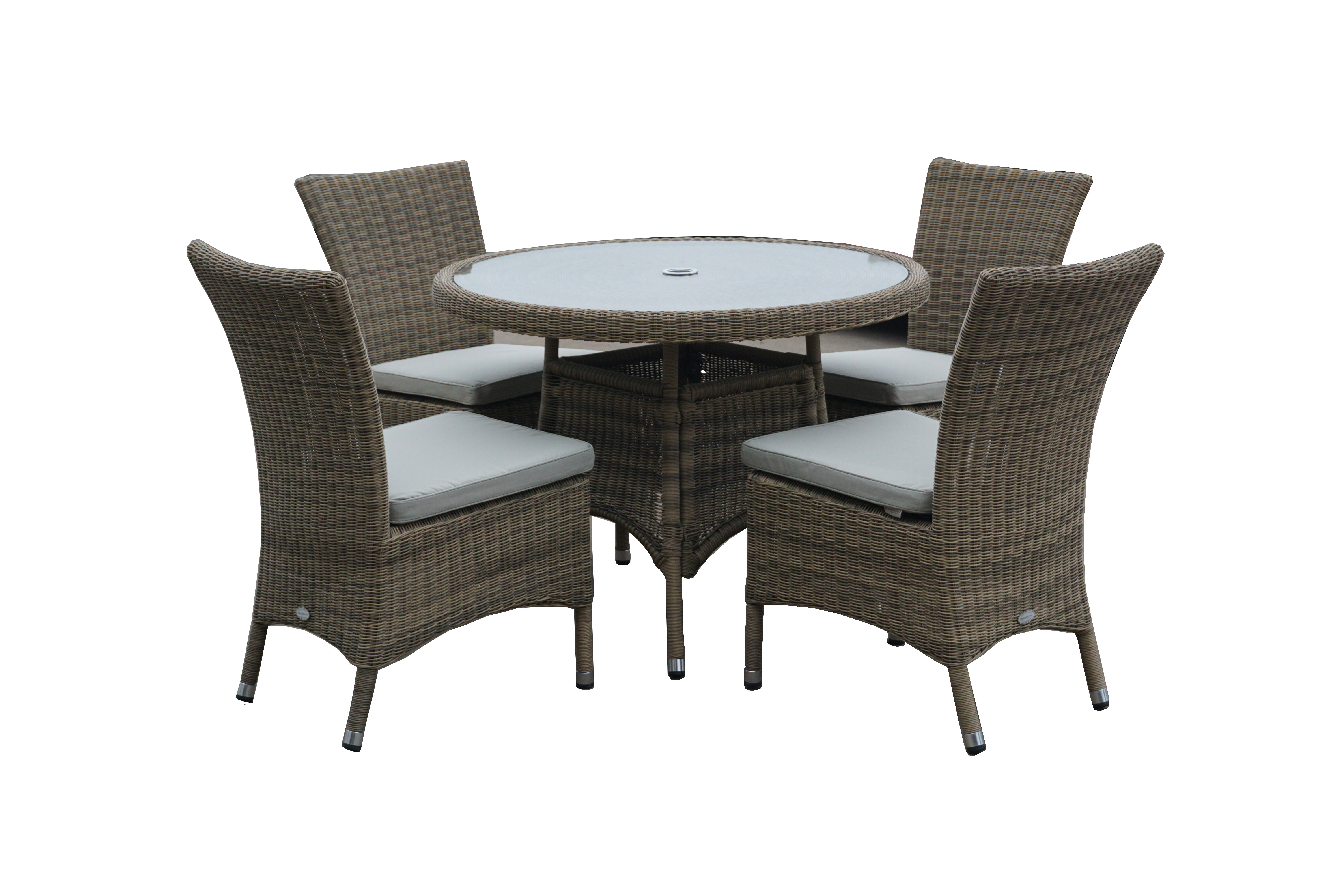 Sol 72 outdoor hobart 4 seater dining set with cushions wayfair co uk