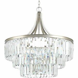 Eggar 6-Light Crystal Chandelier
