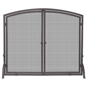 Chambers Single Panel Fireplace Screen