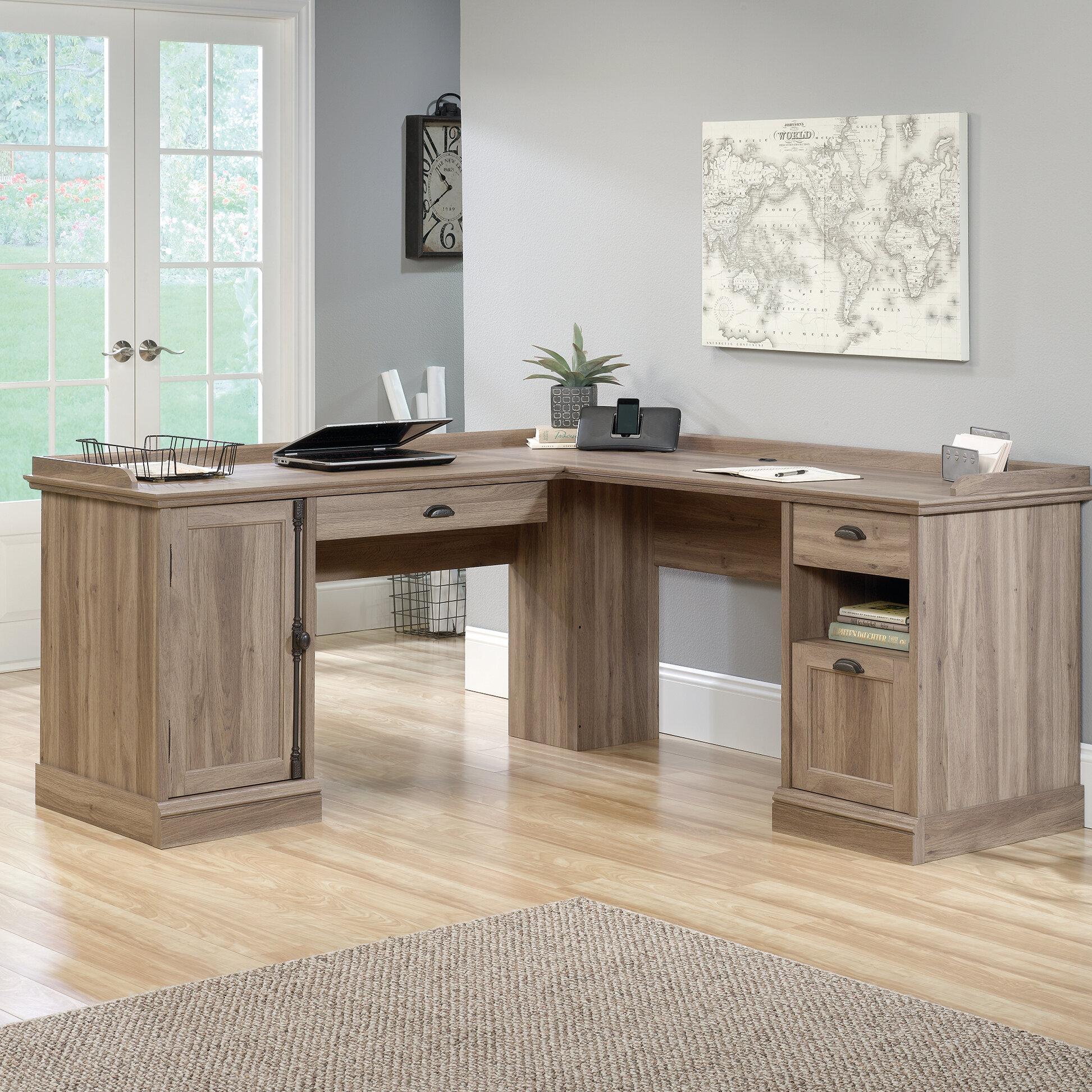 office deskd. Bowerbank L-Shaped Executive Desk Office Deskd