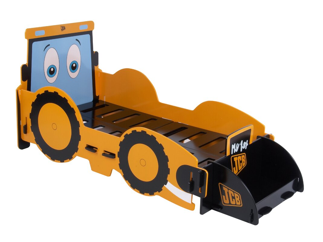 Kidsaw JCB Digger Junior Car Bed Amp Reviews