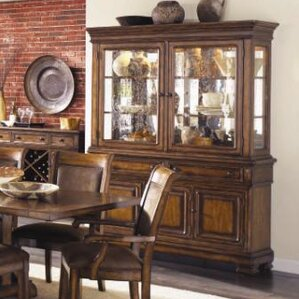 Rangel Wood China Hutch by Darby Home Co