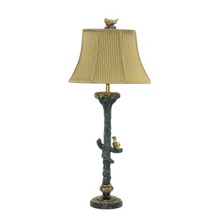 Table lamps with birds wayfair bird on branch 34 table lamp mozeypictures