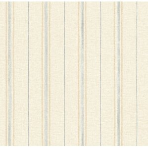 seaside living franz 33 x 205 grain wallpaper roll - Grain Wallpaper