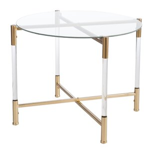 High Quality Robson Acrylic Round End Table