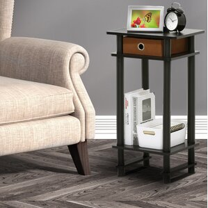 Chrisley End Table with Bin by Zipcode Design