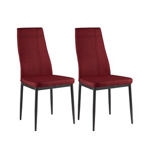 Cerise Modern Wood Upholstered Dining Chair (Set of 4) by Zipcode Design