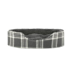Blake Terry and Plaid Pet Bed