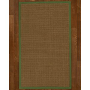 Aderyn Hand Woven Brown Area Rug