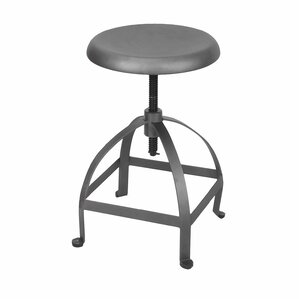 Maxeys Adjustable Height Swivel Bar Stool by Laurel Foundry Modern Farmhouse