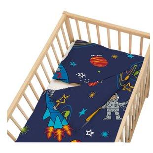 E Boy 2 Piece Cot Bedding Set