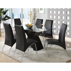 Faust 7 Piece Dining Set by Orren Ellis