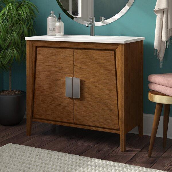 Mid Century Bathroom Vanity Wayfair
