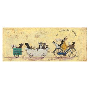 'The Doggie Taxi Service' by Sam Toft Painting Print