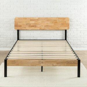 ursula metalwood platform bed - Wooden Platform Bed Frames