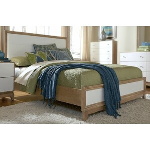 Hector Upholstered Panel Bed by Mercury Row