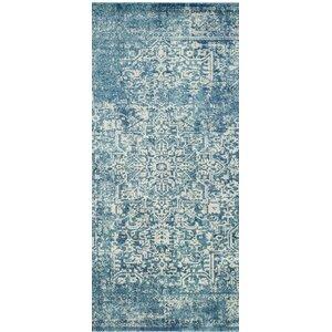 Elson Tibetan Blue/Beige Area Rug