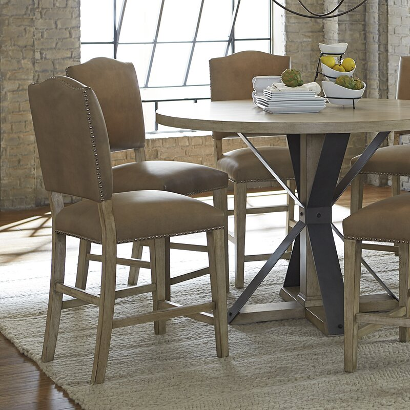 August Grove Dessie Counter Height Dining Table Reviews Wayfair