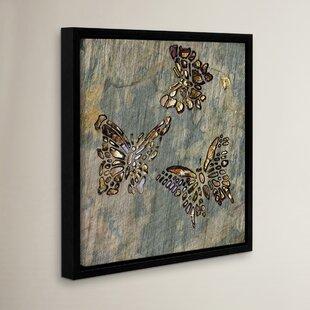 U0027Butterfliesu0027 Framed Wall Art