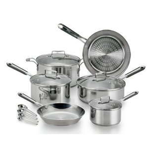 PerformaPro 14-Piece Stainless Steel Cookware Set