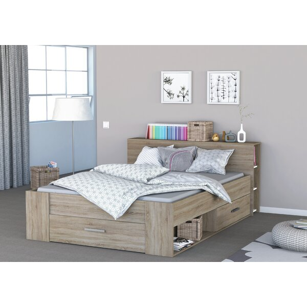 demeyere bett pocket mit stauraum 140 x 190 cm. Black Bedroom Furniture Sets. Home Design Ideas