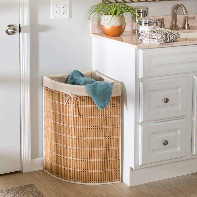 Honey Can Do Wicker Laundry Hamper Amp Reviews Wayfair