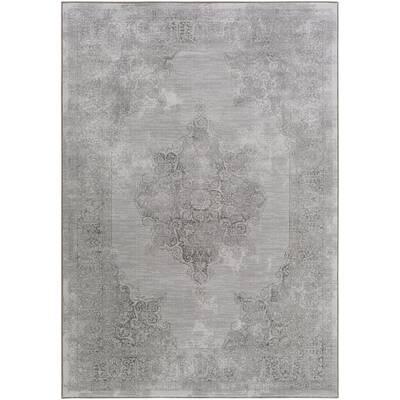 Jayson Tibetan Gray Area Rug