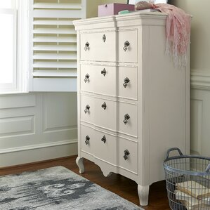 Chassidy 4 Drawer Chest by Harriet Bee