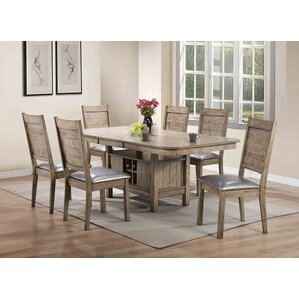 Lyerly 7 Piece Dining Set by Red Barrel Studio
