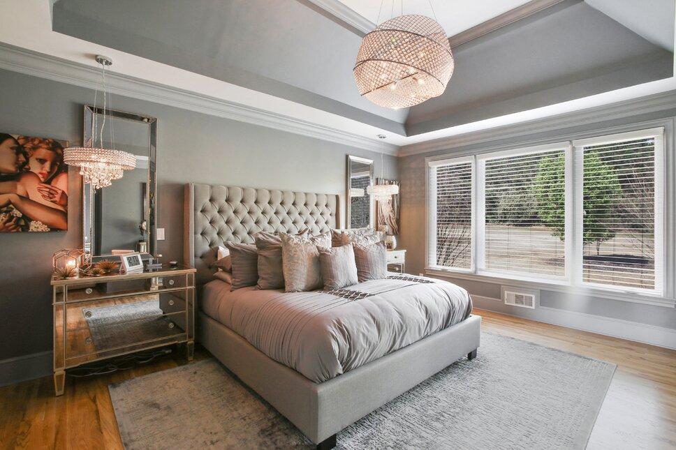Photo de chambre coucher de style glam par r jones for Chambre ado style british