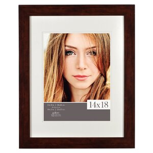 Gallery Solutions Walnut Picture Frame