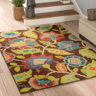 gilson brown indooroutdoor area rug - Outdoor Patio Rugs