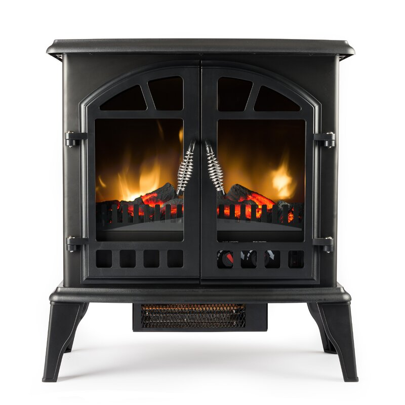 e-Flame Jasper 400 sq. ft. Vent Free Electric Stove & Reviews ...
