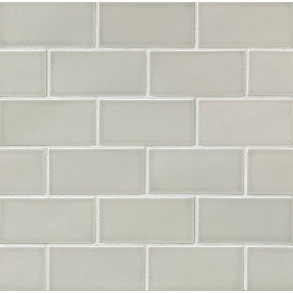 Gsmt Park Place 3 Quot X 6 Quot Ceramic Subway Tile In Gray Wayfair