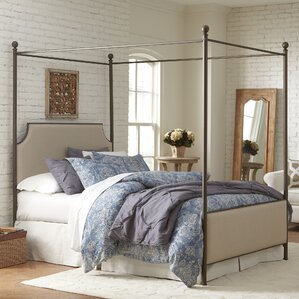Williston Upholstered Canopy Bed by Birch Lane?