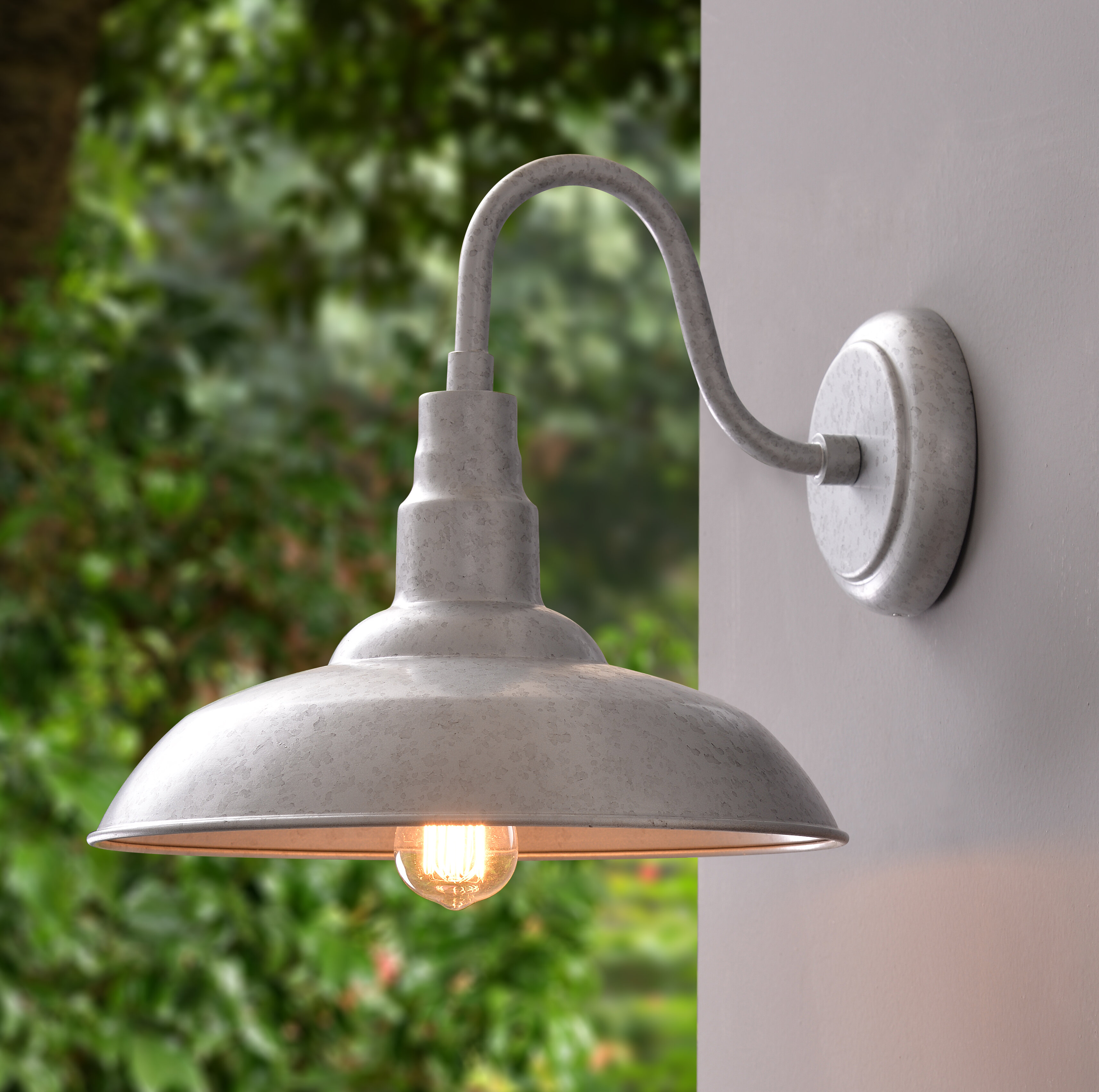 Gracie Oaks Brummett Outdoor Barn Light & Reviews | Wayfair